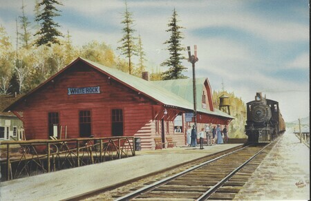 174. White Rock Station circa 1915