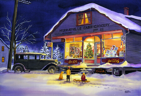 191. Murrayville Cash Grocery - Christmas Eve