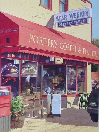 219. Porters Coffee & Tea House